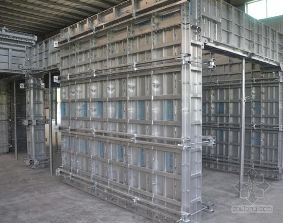建筑工程铝模板构造、施工工艺及质量控制措施(丰富图片)
