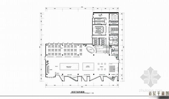 [贵州]某现代风格售楼处室内设计方案图