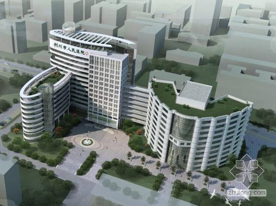 [湖北省利川市]某人民医院住院部设计方案文本