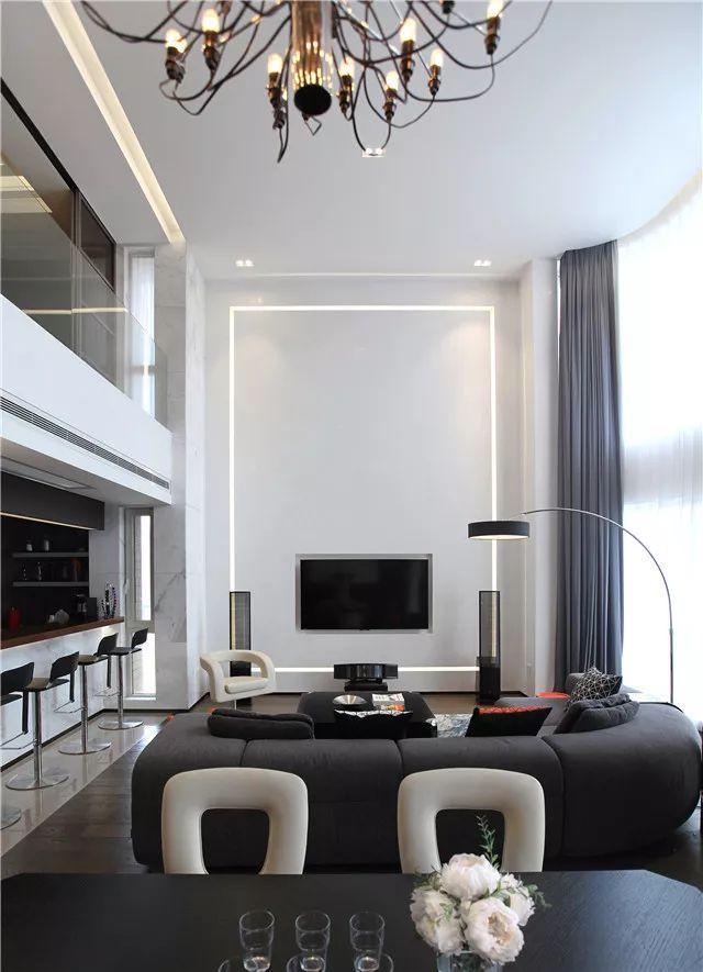 最美现代风格loft,硬装和软装都堪称完美