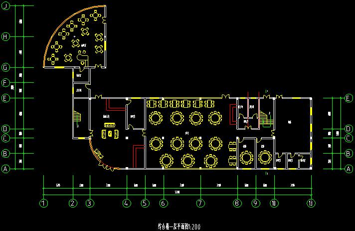 度假村综合楼建筑设计图