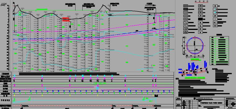 [知名大院]]2016年地铁明挖法矿山法盾构法区间隧道图纸56分册(12个区间,含联络通道泵房)_17