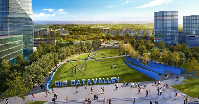 [重庆]国内首个生态科技智能大数据文化产业园景观规划设计方案
