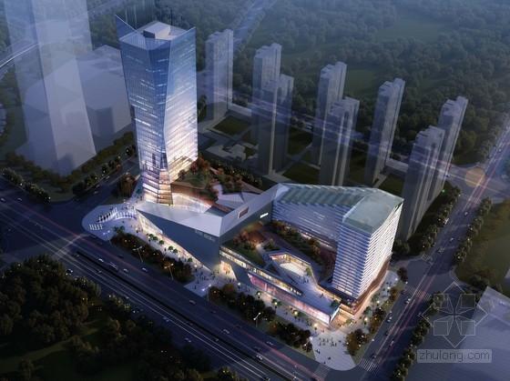 [江苏]科技开发区商业综合体规划设计方案文本(两种方案 知名事务所)