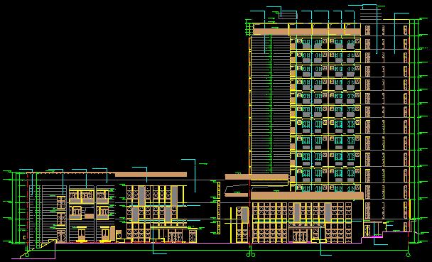 [珠海]高层学生宿舍楼工程含地下室技术标(251页,含多张附图)