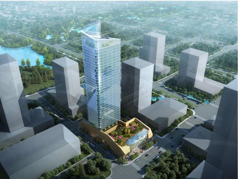 [江苏]无锡某银行办公楼营业大楼设计方案文本(包含视频+CAD)