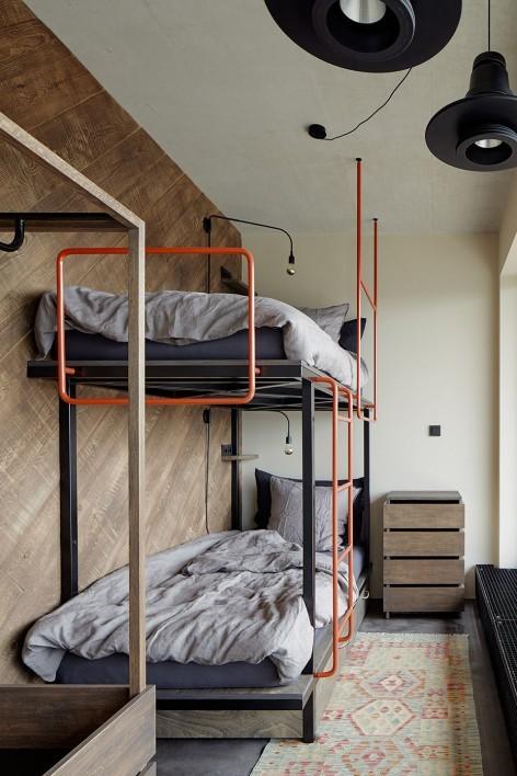 """""""非典型""""工业风-布拉格公寓设计_15"""