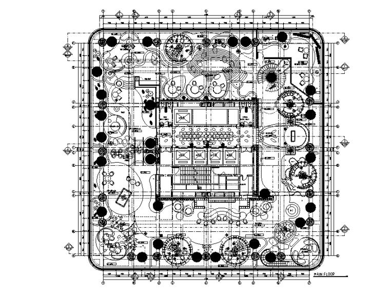 [四川]成都阿玛尼超级奢华艺术公寓会所设计施工图(附效果图)