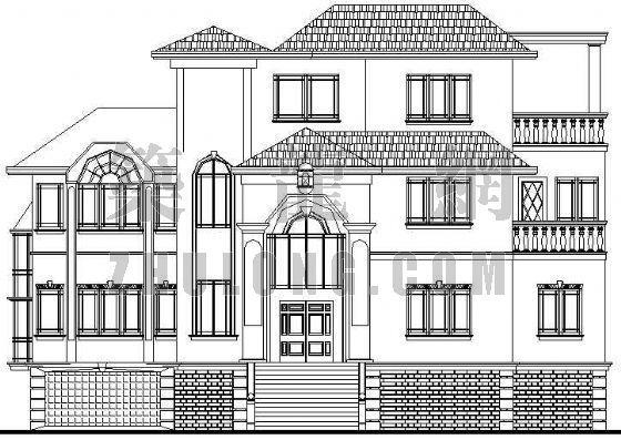 某别墅建筑设计方案