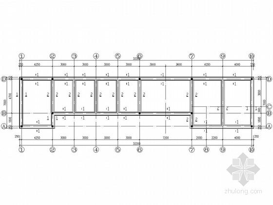 单层砌体结构平房结构施工图