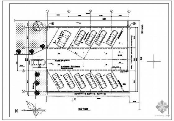 某钢结构小车库设计施工图