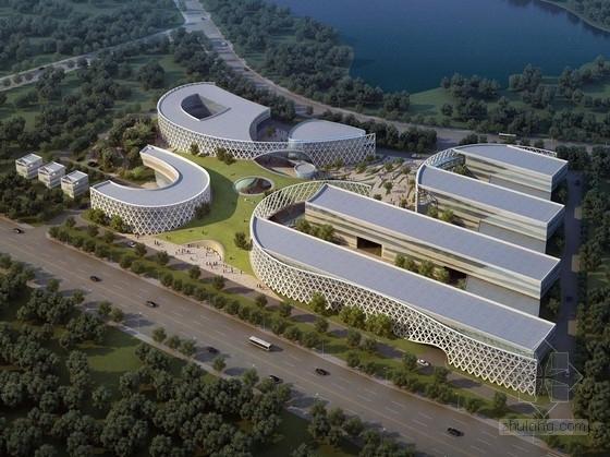 [上海]大学校园单体建筑设计方案文本