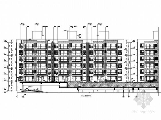 5800平七层剪力墙结构住宅楼建筑结构施工图