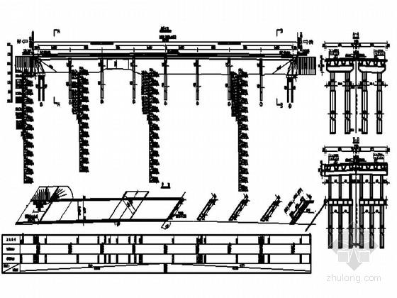 [黑龙江]后张法4×25m预应力先简支后连续小箱梁桥施工图103张