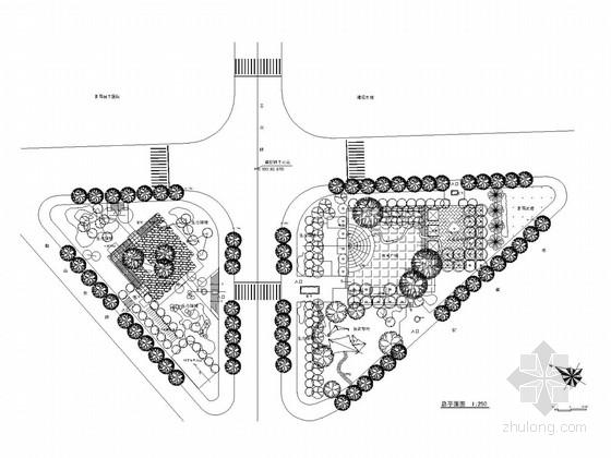 [浙江]城市道路园林景观设计全套施工图