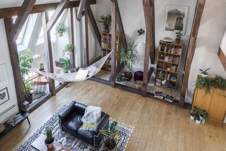 斯德哥尔摩顶层公寓改造-1 (2)