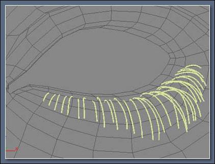 3Dmax绝妙的眼睫毛制作方法_11