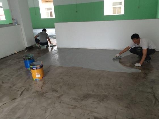 环氧树脂地坪漆可以自己施工吗