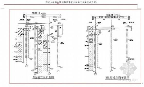 深圳市政桥梁工程连续箱梁满堂支架施工方案(碗扣式脚手架)