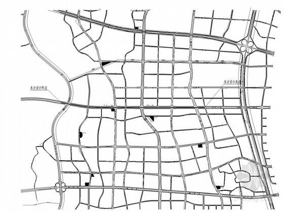 [湖南]3.7公里市政I级主干道排水施工图