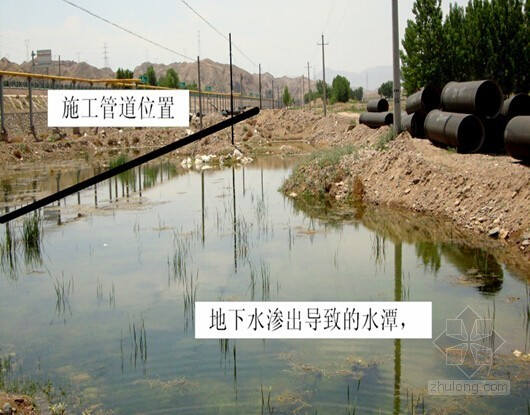 upvc管道安装工法资料下载-[甘肃]冰川河谷地带大口径承插铸铁管道安装工法
