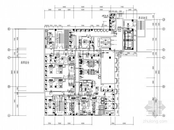 小高层学校食堂餐饮楼空调通风系统设计施工图