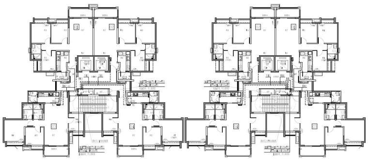 广东省大型住宅及配套公建项目施工图