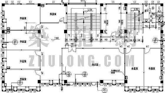 某村委办公楼建筑施工图-4