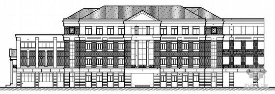 [南广]某四层公共教学楼建筑施工图
