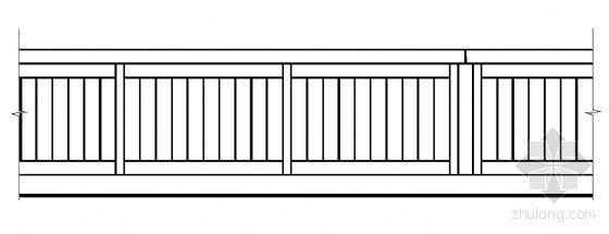 标准栏杆详图