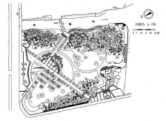 某城市绿地全套施工图