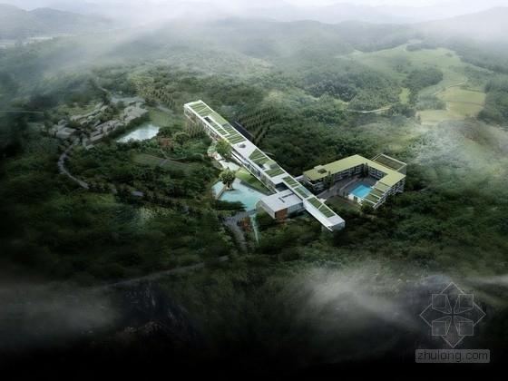 [北京]某科研办公楼建筑方案文本(含CAD)