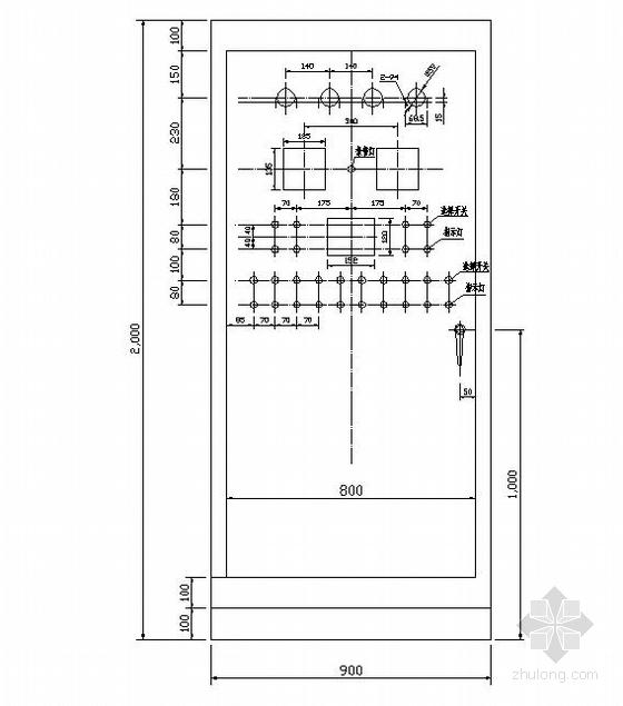 某化工厂污水处理分厂全套电气施工图