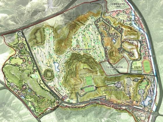 [兰州]主题公园概念性规划设计方案