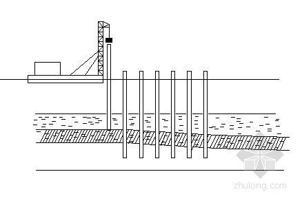 桥梁索塔基础施工流程图