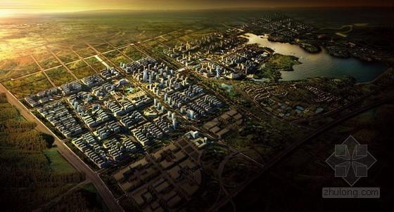 [合肥]某生态新城区城市规划方案设计文本