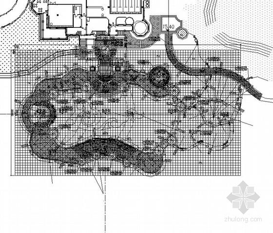 [东莞]居住区综合楼广场园林景观工程施工图