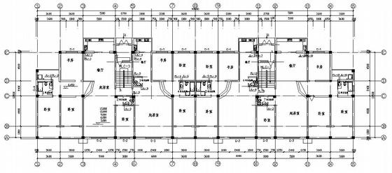 某六层带人防住宅给排水设计图