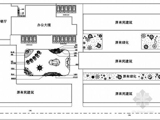 街道办事处广场景观工程设计施工图