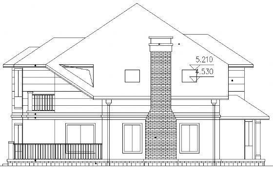 二层别墅建筑施工图