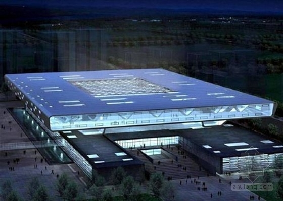 [北京]某五层国家图书馆建筑方案文本