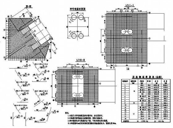 杭新景高速公路拱肋式大桥拱座钢筋布置节点详图设计