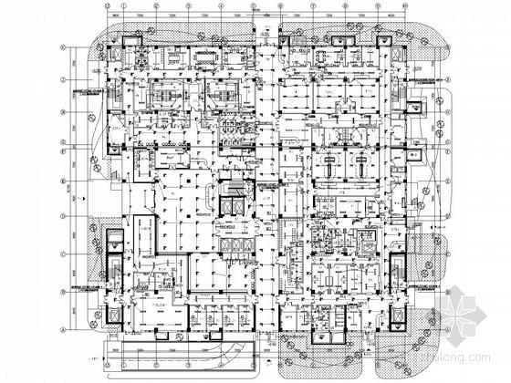 [河北]大型医院强弱电系统全套电气施工图纸132张(含楼控系统、地下室工程)