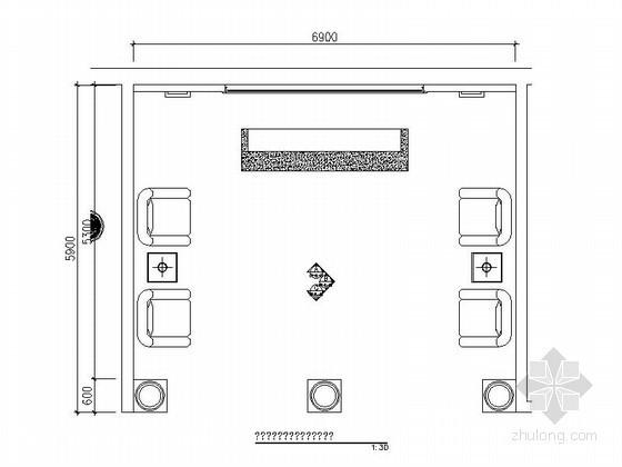 欧式大厅cad资料下载-某奢华欧式足疗会所大厅装修图(含效果)