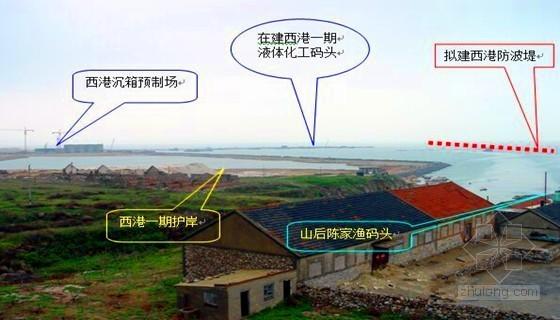 [山东]港区防洪堤工程施工组织设计(抛石斜坡堤 172页)