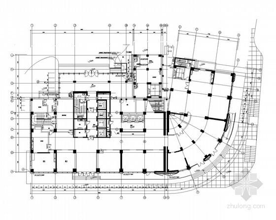 [上海]知名娱乐场所全套装修施工图纸50张(水暖电)