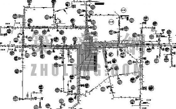 电信弱电规划总图
