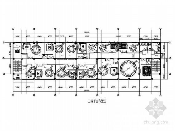 [云南]某酒店装修户型平面图