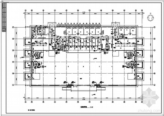某售楼处通风空调施工设计图