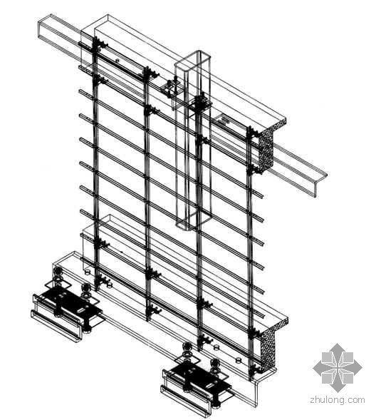 四川某高层商住楼幕墙工程施工组织设计(玻璃 石材 铝塑板)